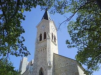 Posušje - Old church in downtown