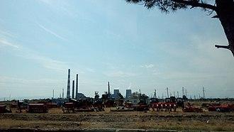 Gardabani - Image: Power station Gardabani