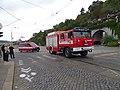 Průvod tramvají 2015, 42 a 43, hasičská vozidla DPP.jpg