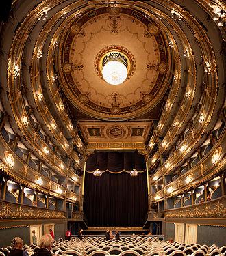 Estates Theatre - Interior view, May 2009