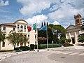 Prata di Pordenone, Municipio e Chiesa di Santa Lucia.jpg