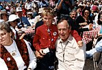 President Bush participates in a picnic lunch with Jackson Hole service clubs in Jackson Hole, WY.jpg