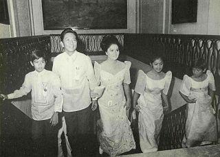 Marcos family Filipino political family