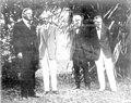 President Herbert Hoover visiting Thomas Edison - Fort Myers, Florida.jpg
