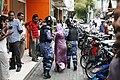 President Nasheed takes refuge at Indian Embassy & Protests (8474113462).jpg
