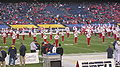 Pride of Utah performing pregame at 2009 Poinsettia Bowl 1.JPG