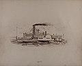 """Print """"Steamer Ionian"""" by Gustav Baumgarten.jpg"""