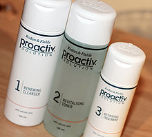 Proactiv three-step kit, June 2013 (cropped).jpg
