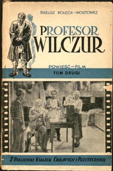 File:Profesor Wilczur t. 2 (Tadeusz Dołęga-Mostowicz).djvu