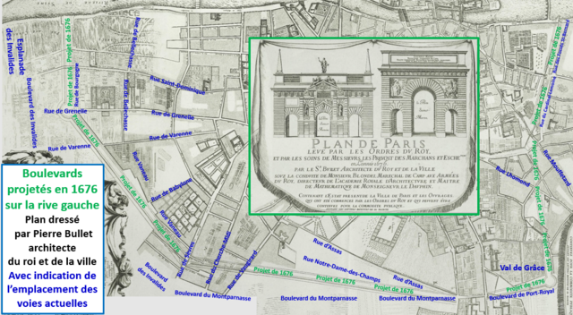 File:Projet de boulevard du midi de 1676.png - Wikimedia Commons on