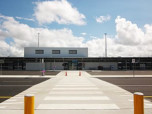Whitsunday Coast Airport - Image: Proserpine Airport Terminal, January 2012