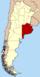 Lage der Provinz Buenos Aires