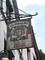 Pub sign in Lynmouth street - geograph.org.uk - 938584.jpg