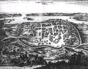 Pulicat Lake - Image: Pulicat, Aerial view of Pellacata 1682