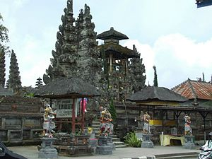 Subak (irrigation) - Image: Pura UD Batur New Shrines Detail