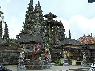 Subak (irrigation) - Image: Pura UD Batur New Shrines Detail