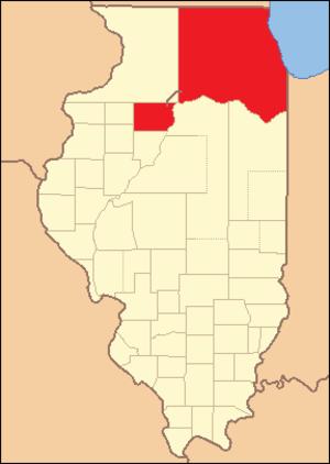 Putnam County, Illinois - Image: Putnam County Illinois 1827