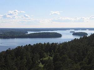 Pyhäjärvi (Tampere region) - Image: Pyhäjärvi flo 01