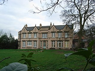 Pype Hayes Hall former mansion house in Birmngham, England