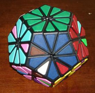Combination puzzle - Deep-cut dodecahedral puzzle