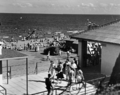 Queensland State Archives 2130 The Pavilion and bathers Redcliffe December 1937.png