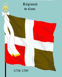 image illustrative de l'article Régiment de Conti (1776)