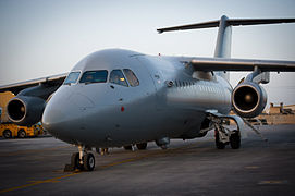 RAF BAE146 QC in Afghanistan MOD 45156847