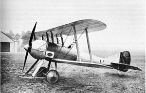 Scout (aircraft) - The S.E.2 in its final form at the Royal Aircraft Factory, Farnborough