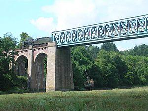 Réseau Breton - The bridge at Frynadour