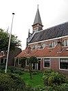 rm19833 haarlem - witte herenstraat 16 (hofje en kerk)