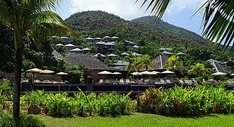 Raffles Hotels & Resorts - Image: Raffles Praslin 2015