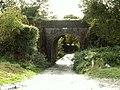 Railway bridge crossing the lane to Hole Farm - geograph.org.uk - 254525.jpg