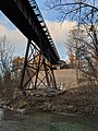 Railway bridge over the Don River in East Don Parkland (20181209160427).jpg