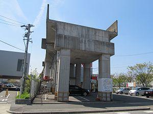 建設途中で放棄された高架橋