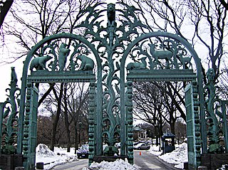 Rainey Memorial Gates