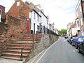 Raised Pavement and Retaining Wall, High Street, Hastings - geograph.org.uk - 1307930.jpg