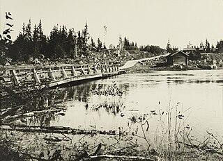 A part of Finnish civil war conflict.