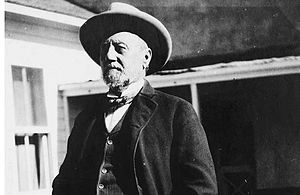 Henry Hooker - Arizona rancher Henry Clay Hooker always preferred to dress like an Eastern gentleman even when working his ranch.