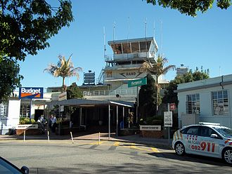 Rand Airport - Rand Airport Control Tower from landside