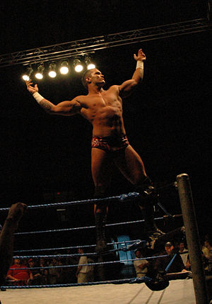 Randy Orton - Orton showing off his signature pose