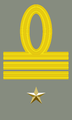 Rank insignia of primo capitano of the Italian Army (1940).png