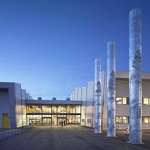 Ravenscraig Regional Sports Facility - Main entrance to the facility