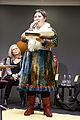 Rawdna Carita Eira fra det samiske sprogomrade, nomineret til Nordisk Rads litteraturpris 2012 til seminar hos Kulturkontakt Nord i Finland (1).jpg