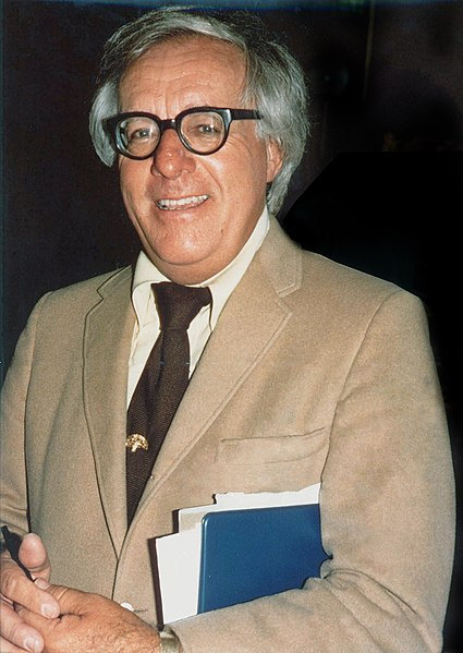 Ray Bradbury at 75 from Wikimedia