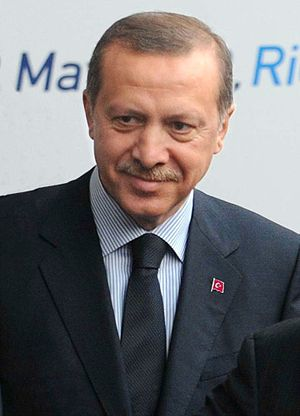 1st Justice and Development Party Extraordinary Congress - Recep Tayyip Erdoğan, leader of the Justice and Development Party from 2001 to 2014