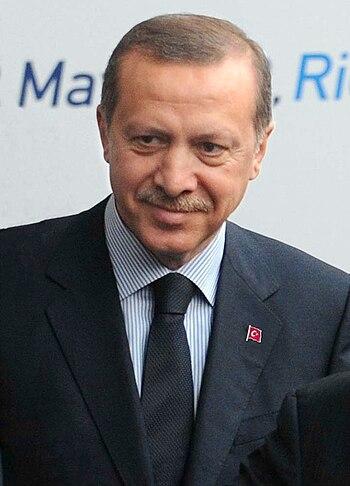 English: Turkish Prime Minister Recep Tayyip E...