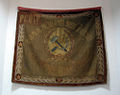 Red Army flag from the early 1920s at the Pavlodar regional museum in Kazakhstan.jpg