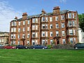 Red sandstone tenements - geograph.org.uk - 471267.jpg