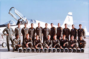 Air Training Command - Image: Reese UPT Class Class 81 05