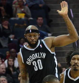 Reggie Evans - Evans with the Nets
